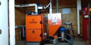 Chaudière biomasse, Mas Palat